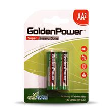 Golden Power GER6M Super Heavy Duty AA Battery  Pack of 2
